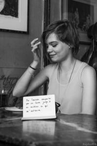 Chloé - Me laisser emporter par un livre jusqu'à en oublier ce qui m'entoure